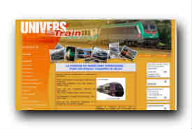 screenshot de www.univers-train.com