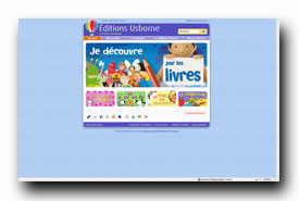 screenshot de www.usborne.fr