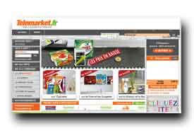 screenshot de www.utelemarket.fr