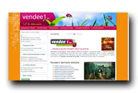 screenshot de www.vendee1.eu