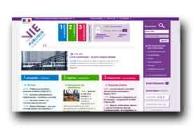 screenshot de www.vie-publique.fr