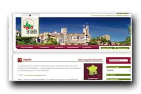 screenshot de www.les-plus-beaux-villages-de-france.org