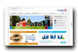 screenshot de www.vinciautoroutes.com