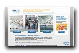 screenshot de www.visa.fr/concours
