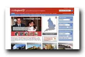 screenshot de www.visitengland.fr