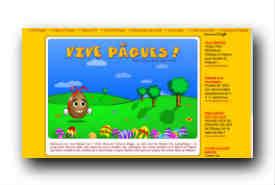 screenshot de www.vive-paques.com