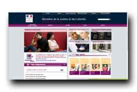 screenshot de www.vos-droits.justice.gouv.fr