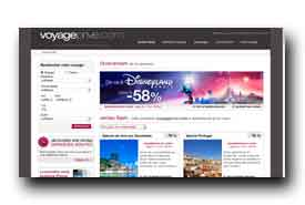 screenshot de www.voyage-prive.com
