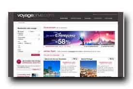 screenshot de www.voyage-prive.com