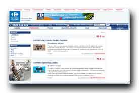 screenshot de voyages.carrefour.fr/voyages-carrefour/cadeaux/c.pdt=PDT.COF