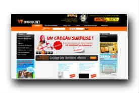 screenshot de www.vp-discount.com