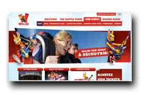 screenshot de www.walibi.com/sud-ouest