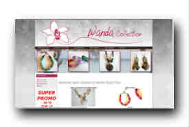 screenshot de www.wanda-collection.fr