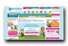screenshot de www.wanimo.com