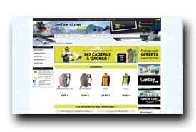 screenshot de store.wedze.com