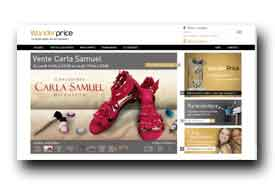 screenshot de www.wonderprice.com