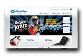 screenshot de www.wowwee.com