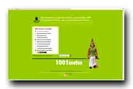 screenshot de www.1001contes.com