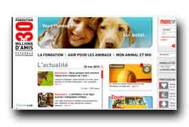 screenshot de www.30millionsdamis.fr