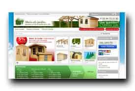 screenshot de www.abris-et-jardin.com