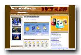 screenshot de www.accuweather.com/world