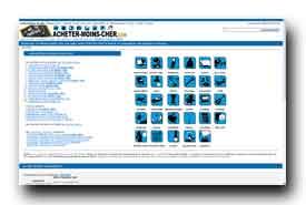 screenshot de www.acheter-moins-cher.com