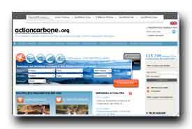 screenshot de www.actioncarbone.org