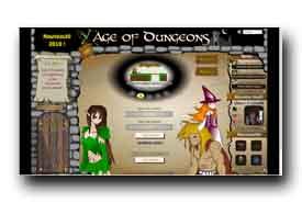 screenshot de www.ageofdungeons.com