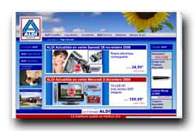 screenshot de www.aldi.fr