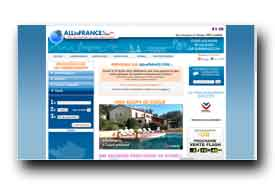 screenshot de www.allinfrance.com
