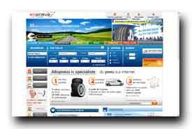 screenshot de www.allopneus.com