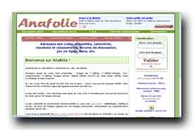 screenshot de www.anafolie.net