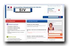 screenshot de www.ants.interieur.gouv.fr/siv/-siv-.html