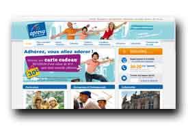 screenshot de www.aprevasante.fr