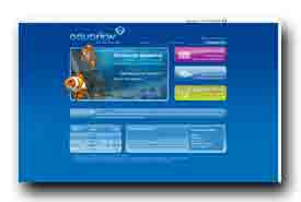 screenshot de www.aquariow.com