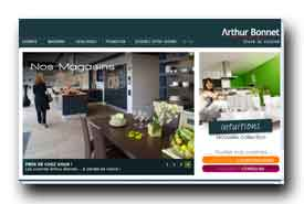 screenshot de www.arthur-bonnet.com