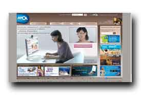 screenshot de www.opticiens-atol.com