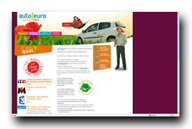 screenshot de www.auto1euro.com