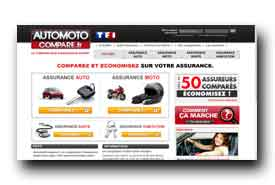 screenshot de www.automotocompare.fr