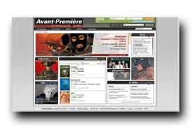 screenshot de www.avantpremiereonline.com