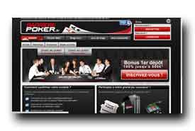 screenshot de www.barrierepoker.fr