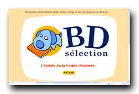 screenshot de www.bdselection.com