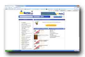 screenshot de www.beebarter.com