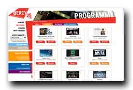screenshot de www.bercy.fr/programme/