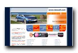screenshot de www.bewall.com