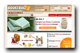 screenshot de www.booktroc.com