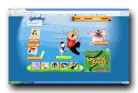 screenshot de www.boomerangtv.fr