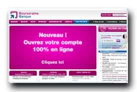 screenshot de www.boursorama.com/banque-en-ligne
