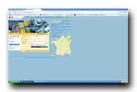 screenshot de www.cadastre.gouv.fr