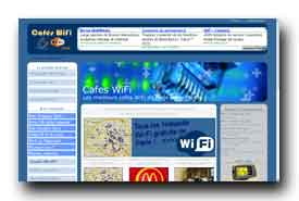 screenshot de www.cafes-wifi.com